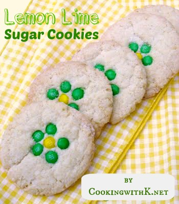 Cooking with K: Lemon Lime Sugar Cookies {Caleb's Yummy Creation}