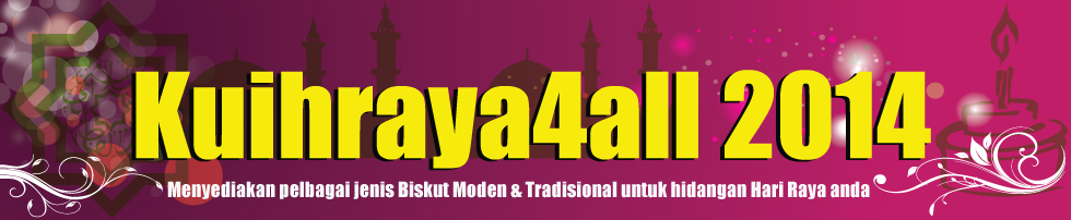 Kuih Raya 2014