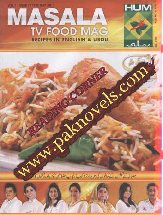 Download Free Cooking Masala TV Food Mag February 2015