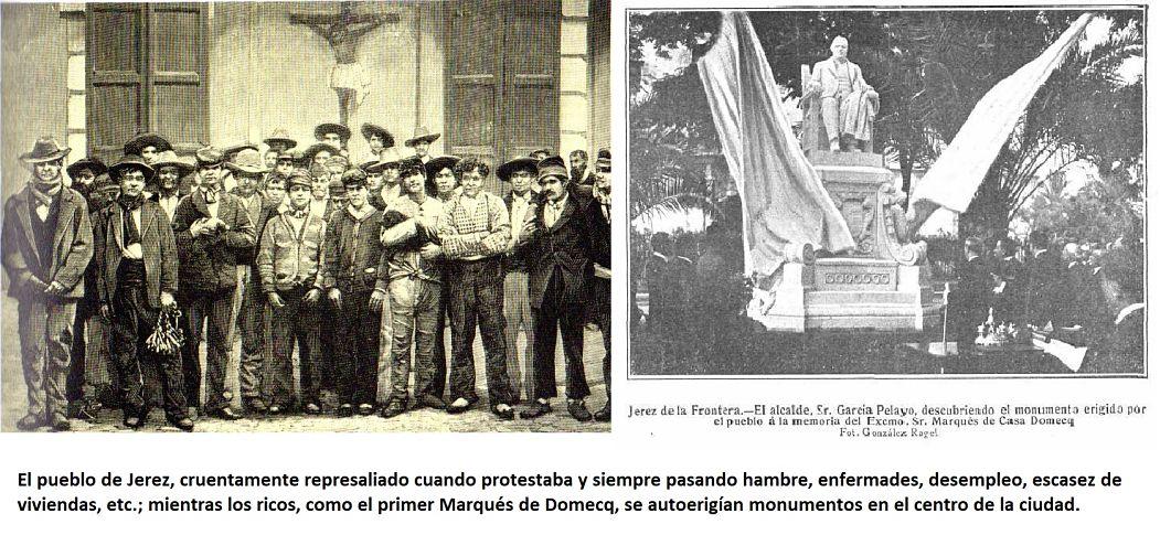 Memoria histórica de Jerez (archivos, documentos, libros, historia social de Jerez...)