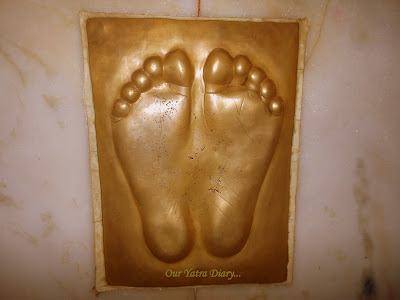 Your footprints - Your blessings