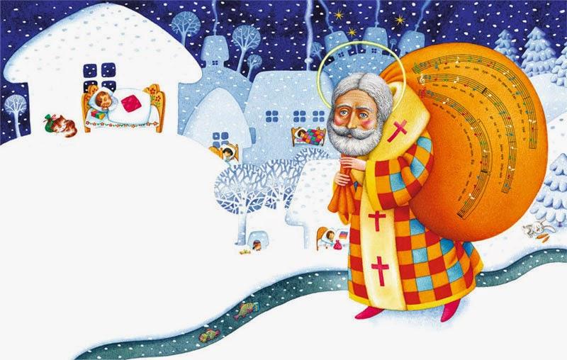 Вірші про Миколая для дітей 8-10 років