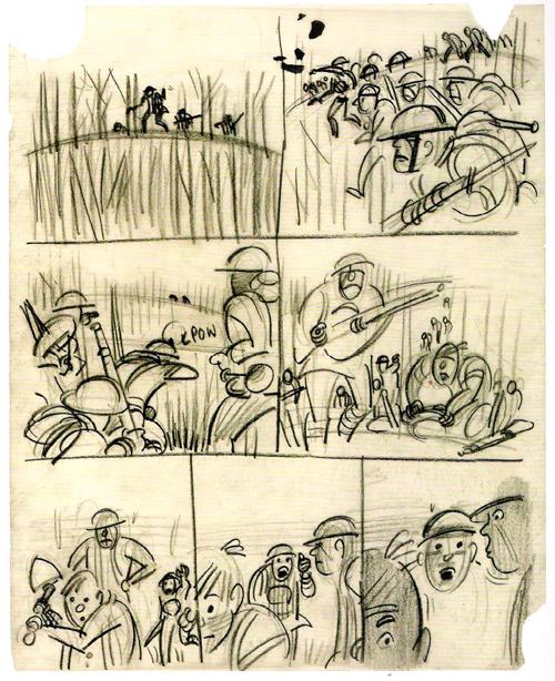 cartoon concept design  harvey kurtzman cartoons