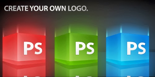 3-D Glossy Box Logo