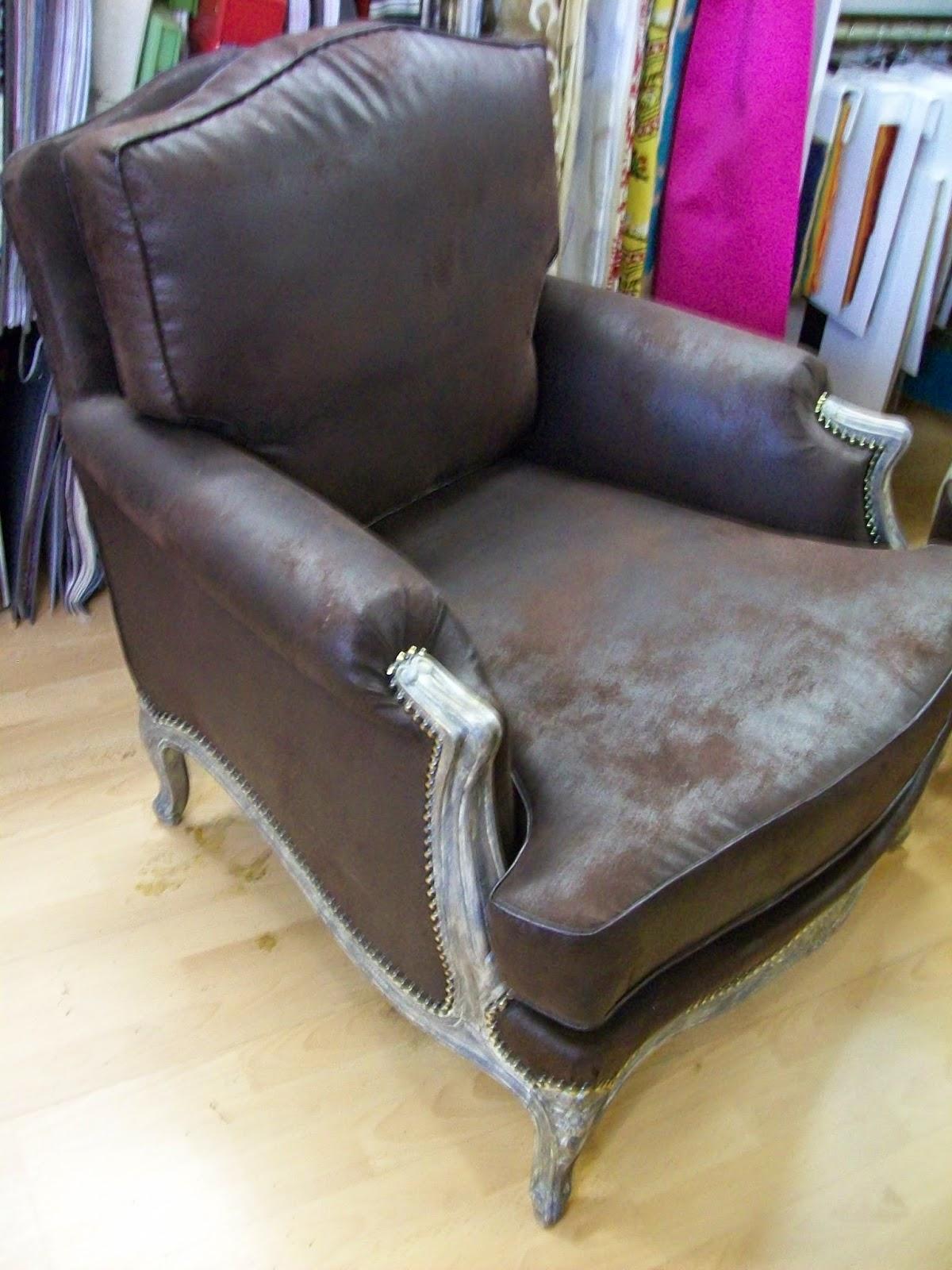 L 39 fauteuil berg re a coussins for Housse de fauteuil bergere
