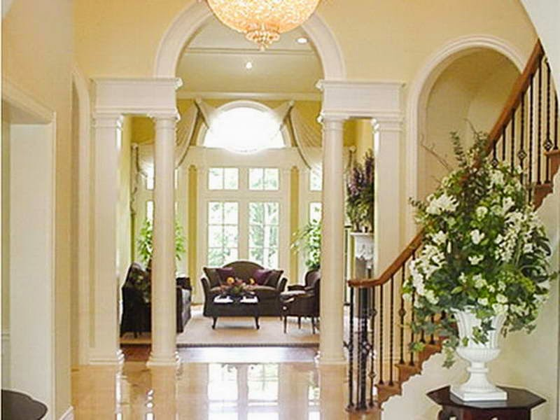Foyer Decorating Ideas With The Lobby Lux
