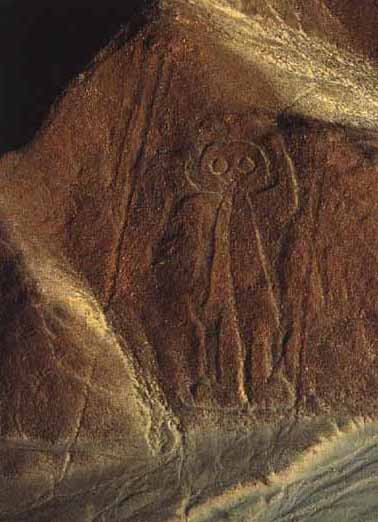 Lukisan Monyet Bergaris Di Gurun Nazca