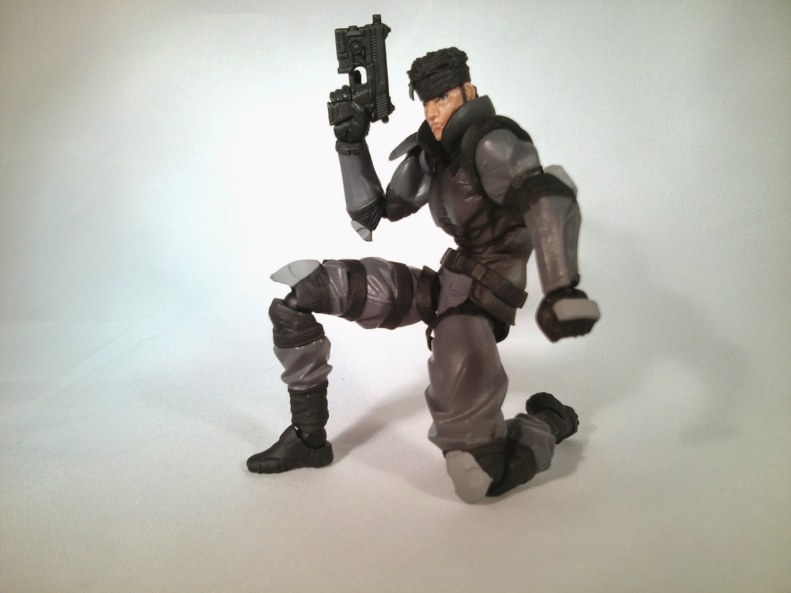 snake with pistol