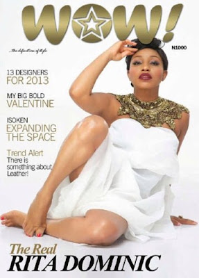 Rita Dominic Covers WOW! magazine