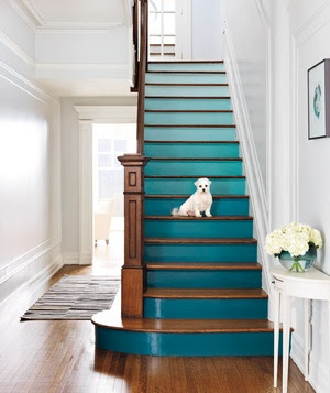 Painted stairs1