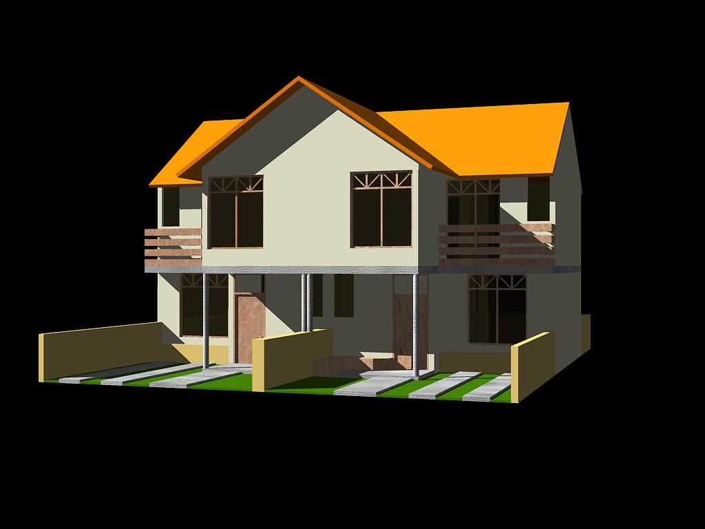 Arquitectura con identidad vivienda bifamiliar en ceja de - Paginas de viviendas ...