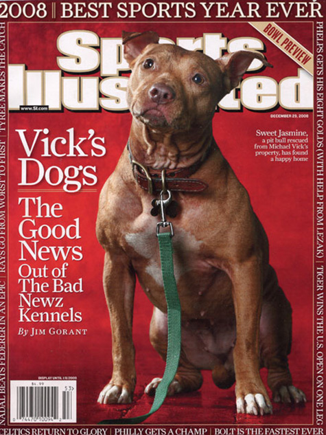 Sports Illustrated Vick's Dog Cover
