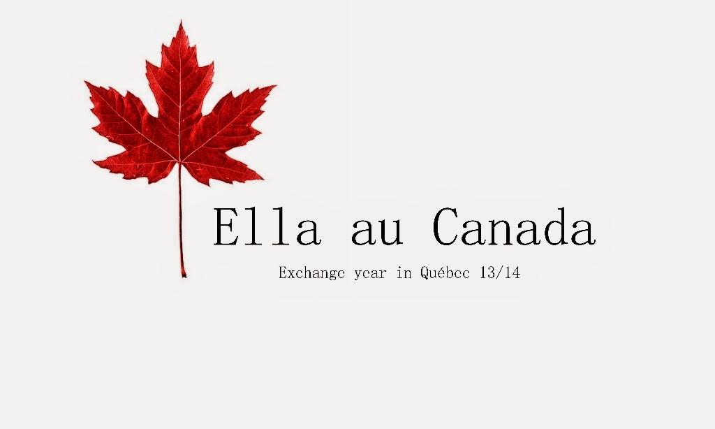 Ella in Canada