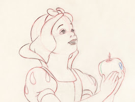 Pencil Drawing Of Snow White