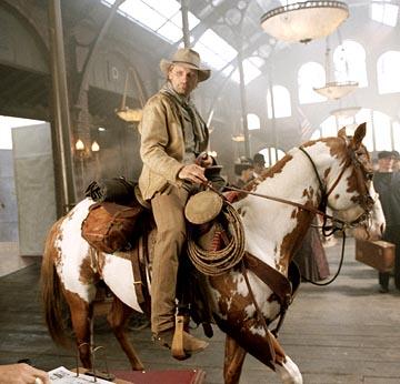 """Fotograma de """"Hidalgo"""", protagonizada por un caballo """"mustang"""" y un actor apenas conocido."""