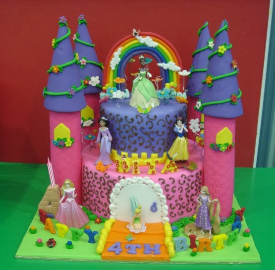 Yochanas Cake Delight! : Diya Turns 4 !!