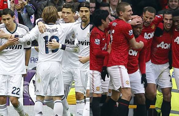 Manchester United vs Real Madrid 2013: Horarios y Alineaciones (Champions League)