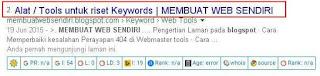 Cara merubah Title Bogspot pada hasil mesin Pencarian