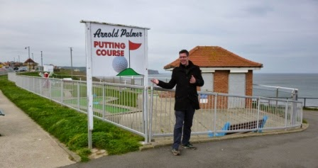 Arnold Palmer Crazy Golf Course in Whitby