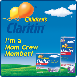 I'm a Children's Claritin Mom Crew Member