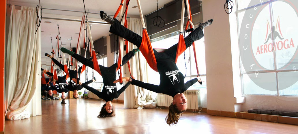 AERO, AERIAL YOGA PILATES, GRAVITY