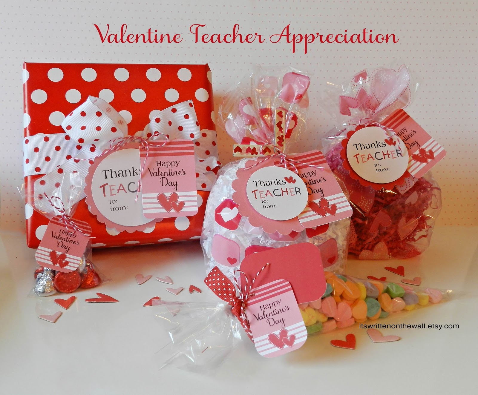 It\'s Written on the Wall: Valentine\'s Day Gift Tags for Teacher ...