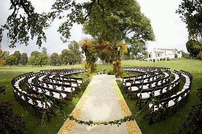 decoracion de bodas ceremonias al aire libre parte