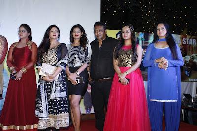 Anjana Singh, poonam Dubey, Urvashi Chodhry, Gunjan Pant at Ravi Kishan 3 Bhojpuri Movie Muhurat