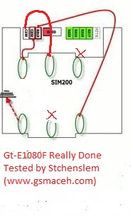 GT E1080 jumper sim card jumper full ways and really done by stchenslem