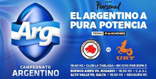 2º fecha del Argentino de Rugby: Córdoba vs. Tucumán por Tv