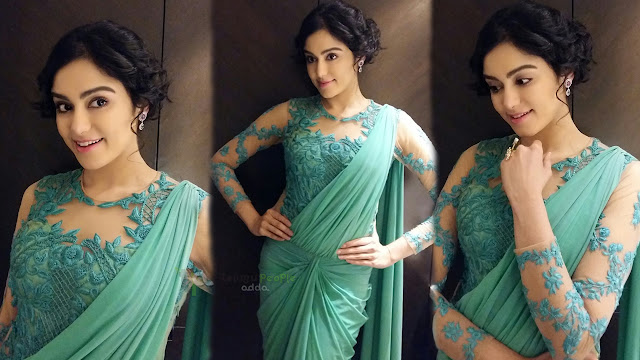 Adah sharma Latest HD images at Satosham awards