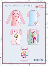 T-Shirt, Top, Langarmshirt LEA