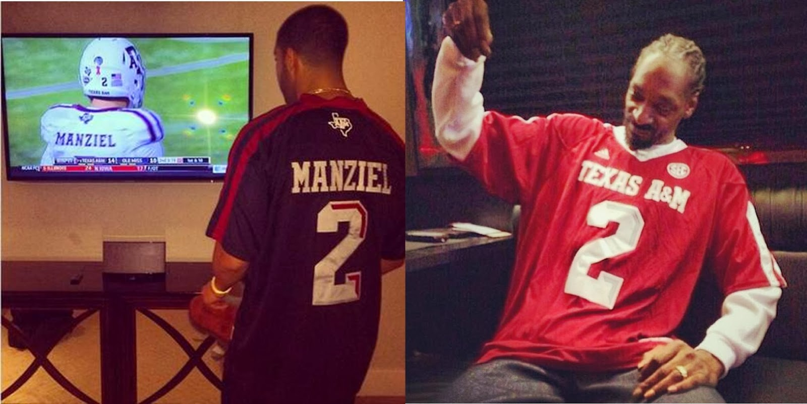 Hip hop loves Johnny Manziel