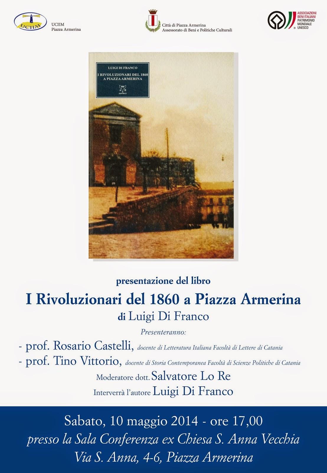 I Rivoluzionari del 1860 a Piazza Armerina (EN)
