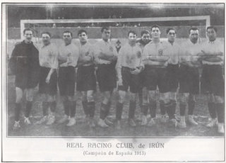 Copa de 1913, Real Racing de Irún
