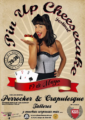 cheesecake pin up