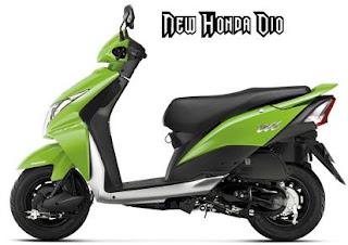 new Honda Dio
