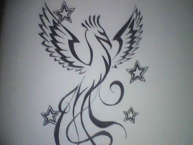Guilherme pereira garcia fenix tribal for Fenix tribal tattoo