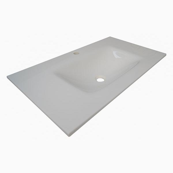 Lavabo masa blanca