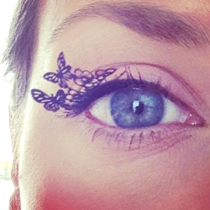 Image result for paper eyelash