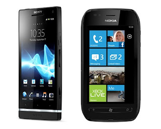 Sony Xperia S, Nokia Lumia 710 coming soon to Three UK