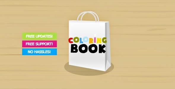 Coloring Book Creator (Activeden – 2659676) - Theme Share 123 ...