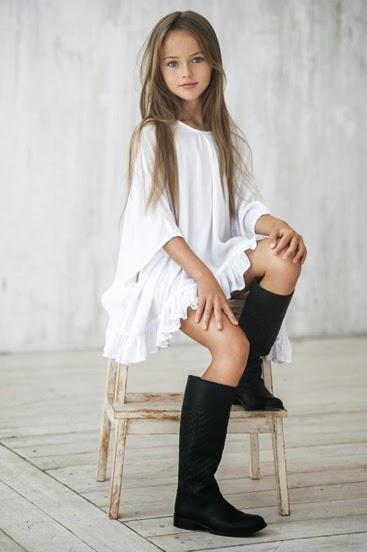 Kristina Pimenova bé người mẫu nhí xinh đẹp nhất thế giới