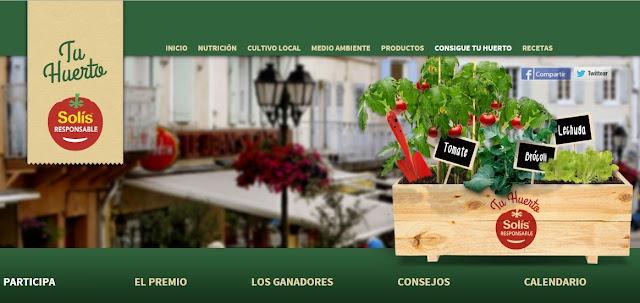 #SolísResponsable: Quieres ganar un huerto urbano?