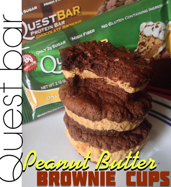 Quest Bar Peanut Butter Brownie Cups