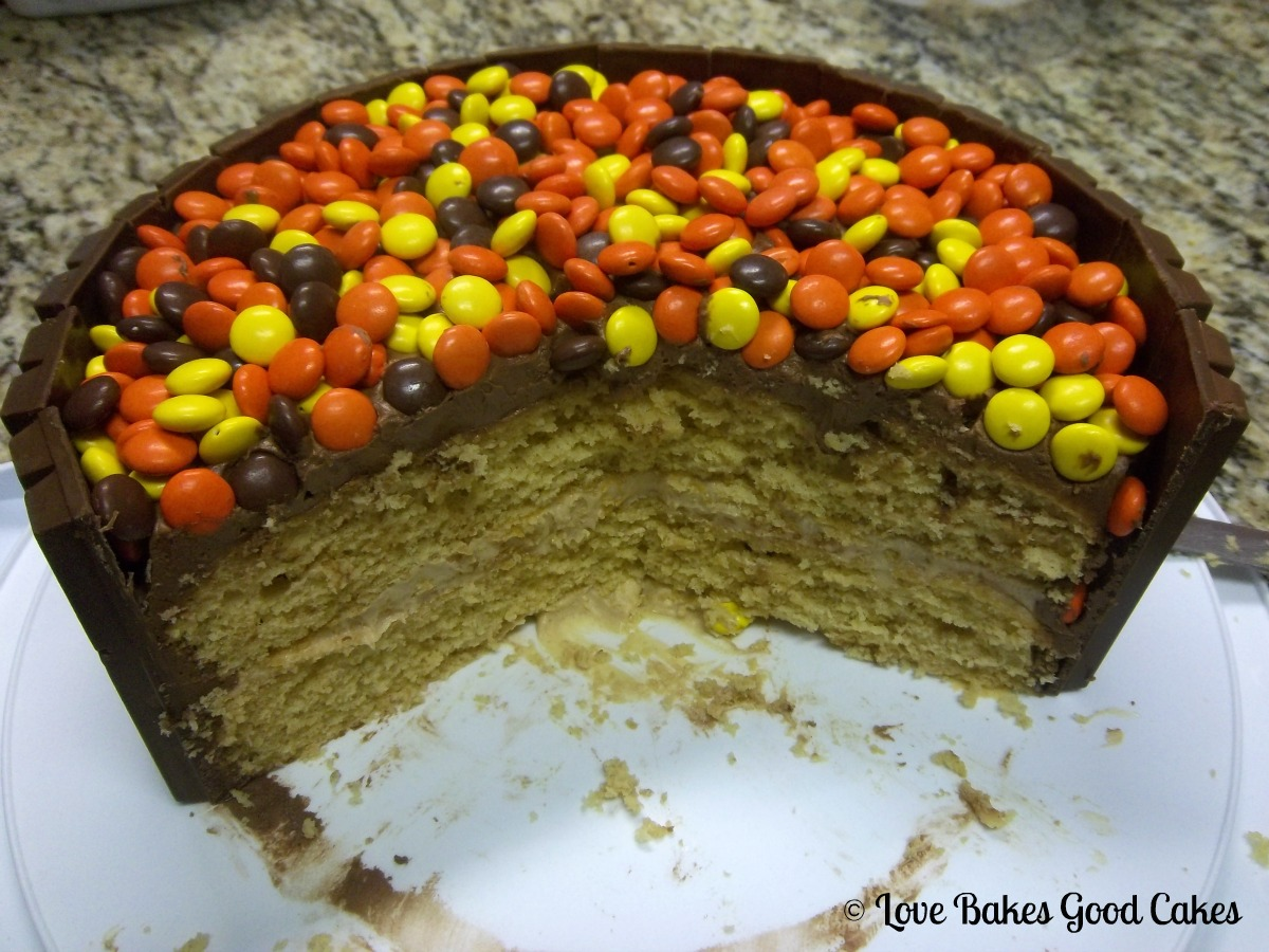 The Lunch Pail~Aunties Family Recipes: Kit~Kat Cake