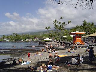 Kahaluu Beach Kona