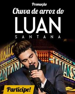 Participar promoção Chuva Arroz Luan Santana