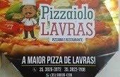 A MAIOR PIZZA DE LAVRAS