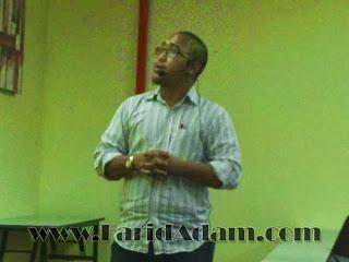 Seminar Sublet Yang Serius Tapi Santai, Muhammad Khairulnawawi